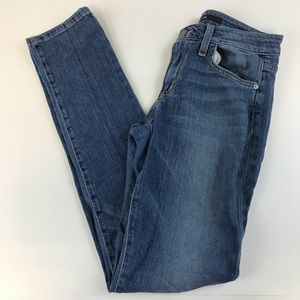 Joe's Jeans W26 Skinny Bootyfit Denim Blue Medium